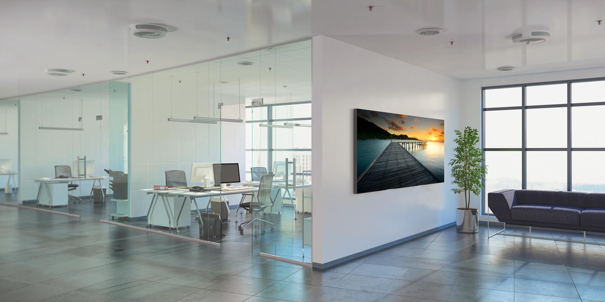 Akustikbilder Großraumbüro - Bürogebäude - Bürofläche - Gewerbefläche -
