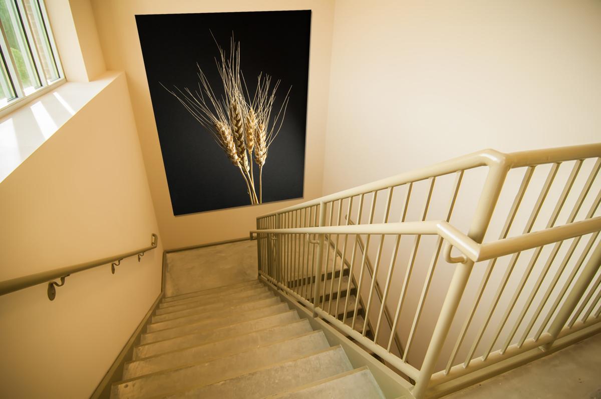 Akustikbilder im Treppenhaus